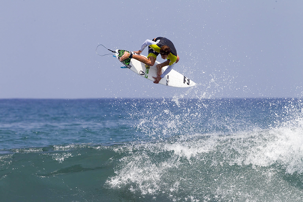 Surf Kerrupt: Josh Kerr lends his name to this impressive aerial maneuver