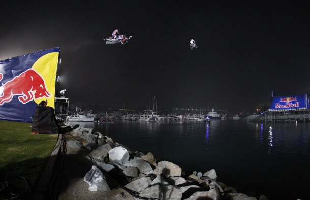 Motorsports ROBBIE MADDISON AND LEVI LAVALLEE IN FLIGHT