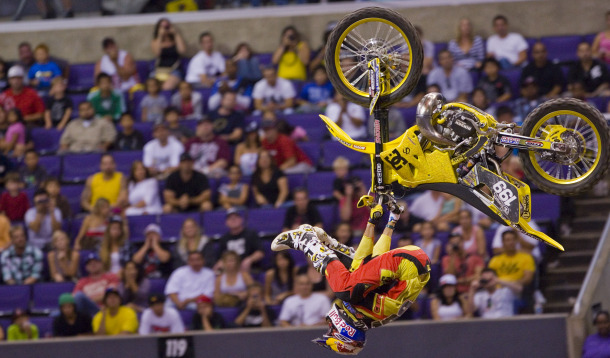 Motorsports TRAVIS PASTRANA AT X GAMES MOTO X