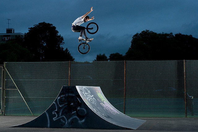 BMX Volcanohands