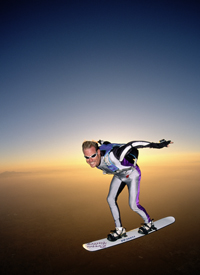 Extreme Skyboarding is just awesome!
