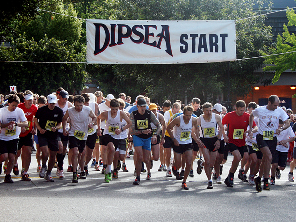 Fitness Dipsea Race, the oldest trail-running race in America (it started in 1905)