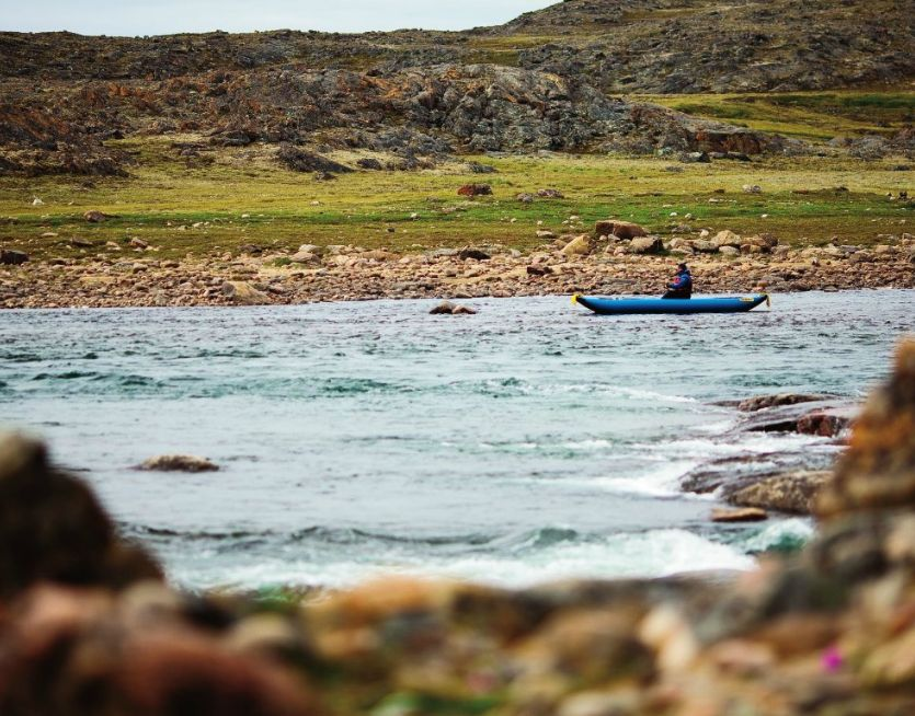 Kayak and Canoe  Baffin Island