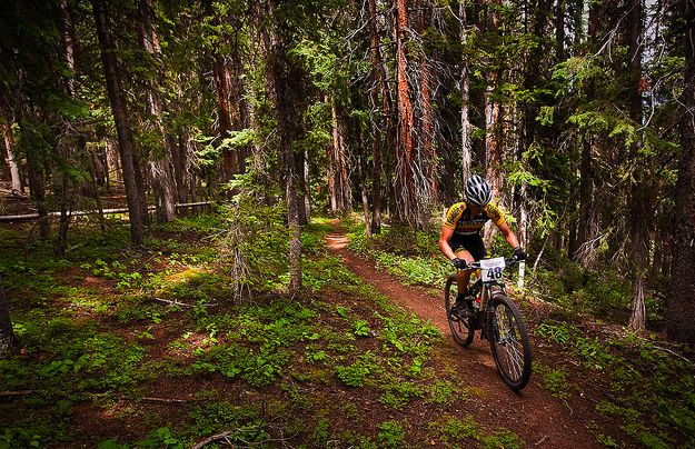 Power of Four Mountain Bike Race at Aspen/Snowmass