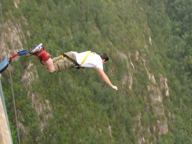 Extreme bungy africa