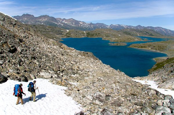 Camp and Hike Skagway to Bennett Lake