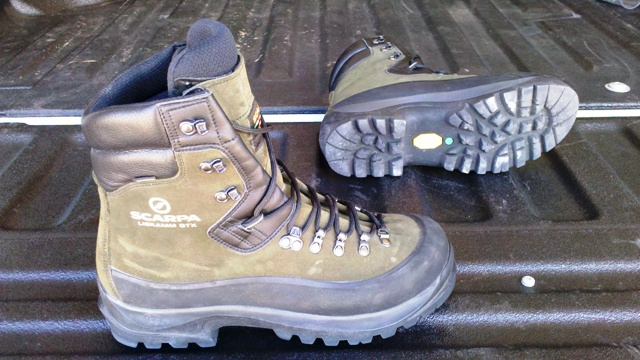 Camp and Hike great boots for use in the mountains