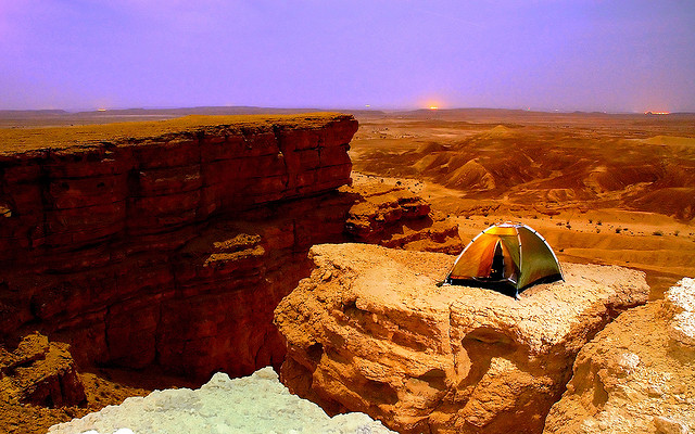 Camp and Hike Edge of the World
