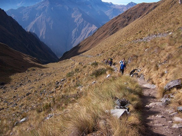 Camp and Hike Inca Trail, Peru