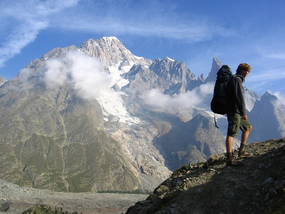 Camp and Hike Tour de Mont Blanc, France