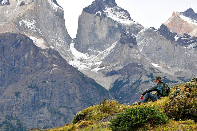 Camp and Hike view - Torres del Paine