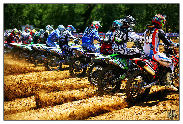 Motorsports Lucas Oil AMA Pro Motocross Championship -- Spring Creek in Milleville, MN