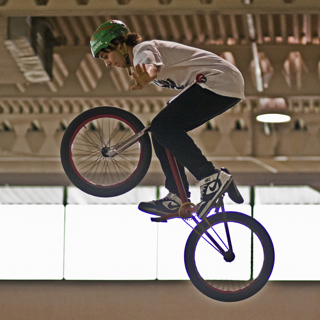 BMX Senior Amateur Finals at the 2012 Toronto International Bicycle Show BMX Jam