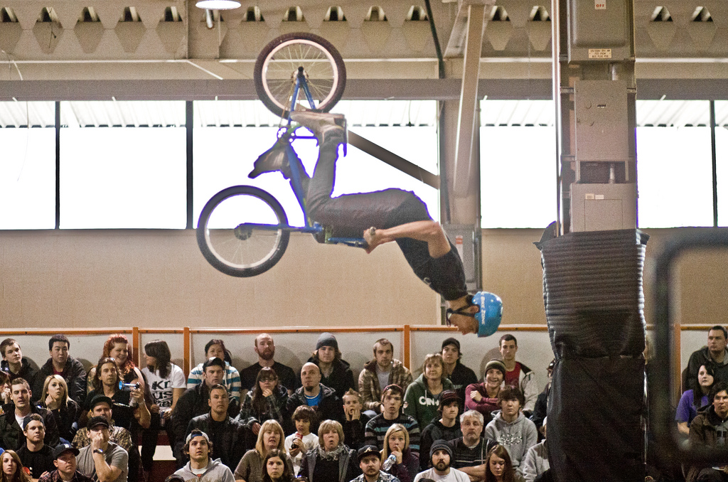 BMX 2012 Toronto International Bicycle Show BMX Jam.