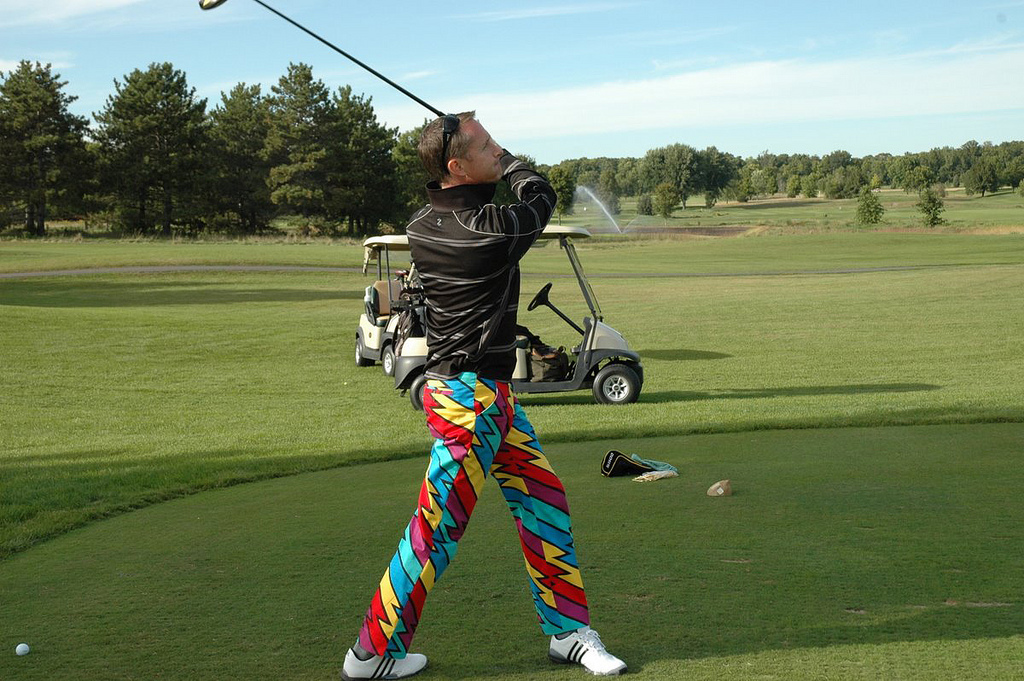Golf Ian Leonard Bad Pants Open