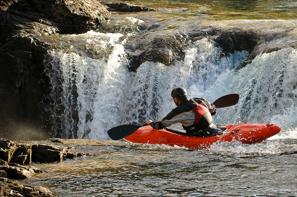 Kayak and Canoe tipping point