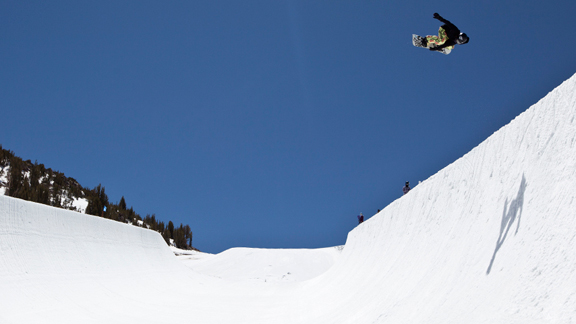 Snowboard Elena Hight became the first woman to land a double backside alley-oop rodeo