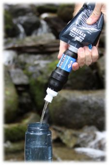 Camp and Hike Sawyer® Squeeze Water Filtration System