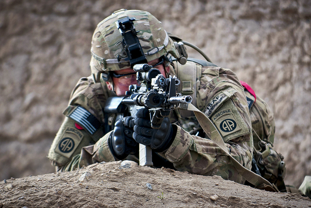 Guns and Military 2nd Airborne Division's 1st Brigade Combat Team,