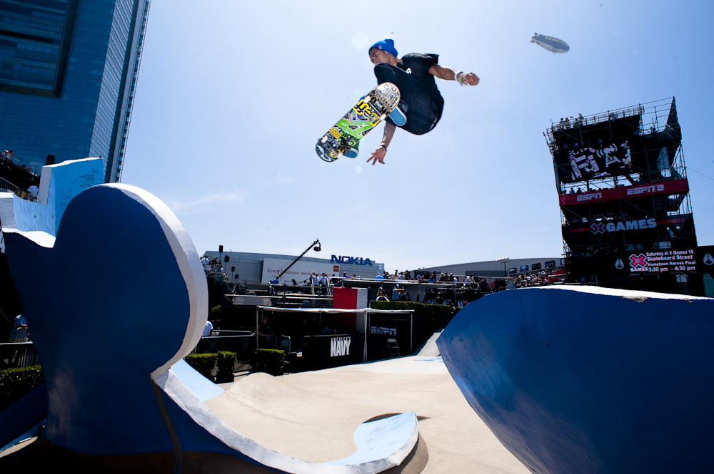 Skateboard  Finals at X Games 16