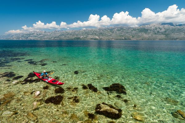 Kayak and Canoe Adriatic Sea, Croatia
