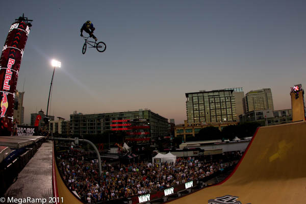 BMX had Kagy competes in the BMX Freestyle Big Air Finals at Summer X Games 17