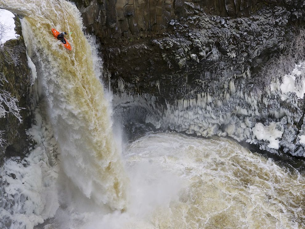 Kayak and Canoe Outlet Falls