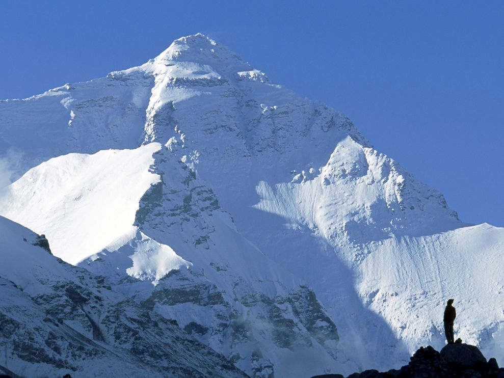 Extreme Mount Everest's North Face, Tibet