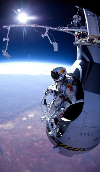 Extreme Edge of Space Base Jump