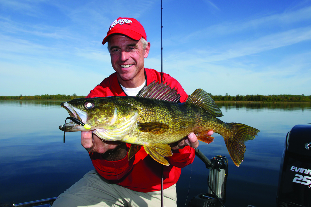 Fishing Chip Leer at the All-Star Walleye School