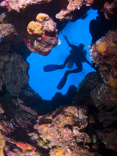 Scuba Grand Cayman, Scuba Bowl