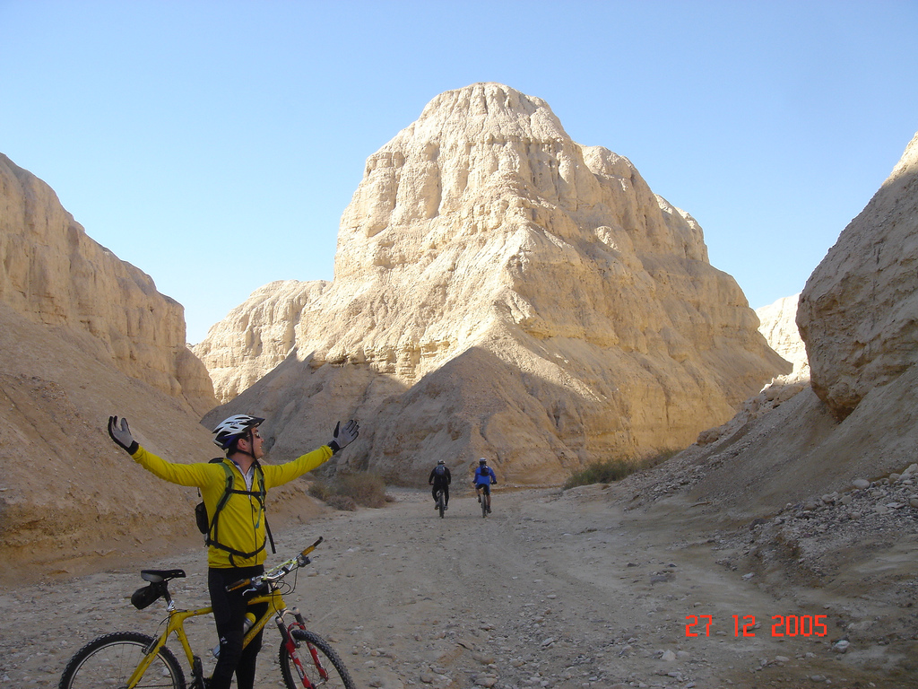Mountain Bike Trail Ein Tamar Dead Sea Israel