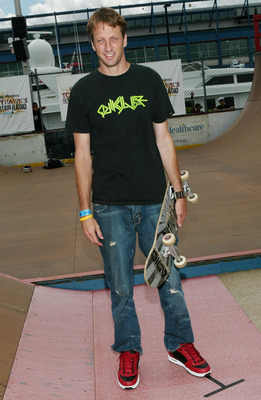 Skateboard 1. Tony Hawk...coolest sports people list topper