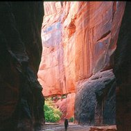 Camp and Hike Buckskin Gulch, a slot canyon that creates a red-rock defile of wonder and fascination