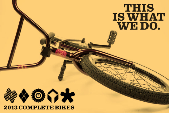 BMX United has posted up their 2013 Completes