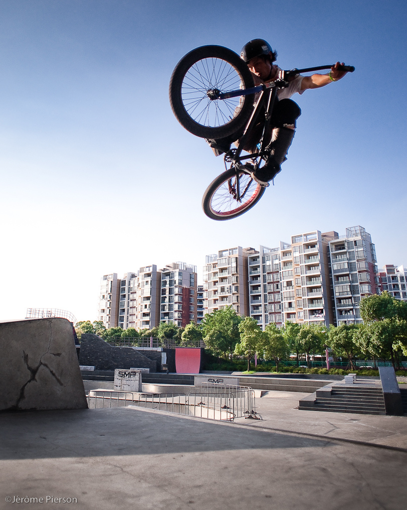 BMX Tabletop by Dong Bei