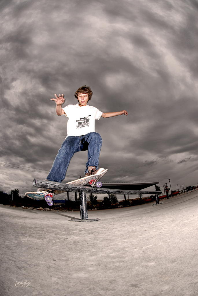 Skateboard Stormy Front Smith