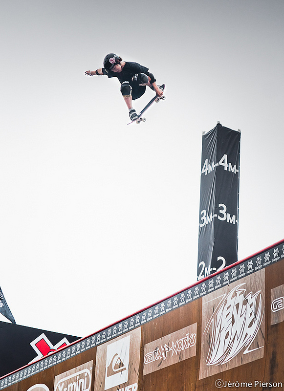 Skateboard Tom Shaar at X Games 2012 Asia