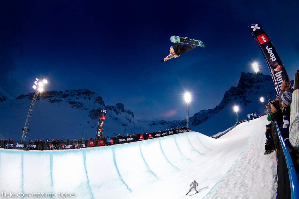 Snowboard X Games Europe : Snowboard Superpipe Men's Final
