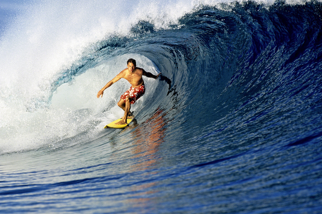 Surf Kelly Slater. Fiji.