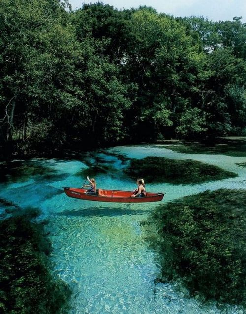 Kayak and Canoe fantastic shot