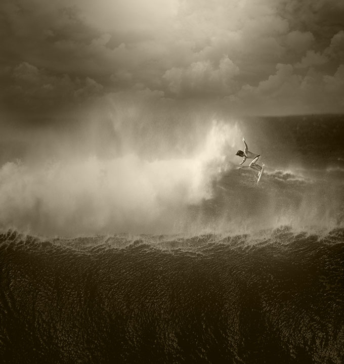 Surf Ed Freeman is not an 'action sports' photographer normally
