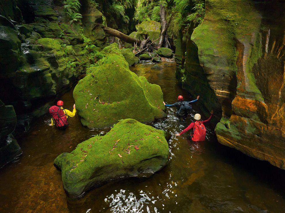 Camp and Hike Claustral Canyon, Australia