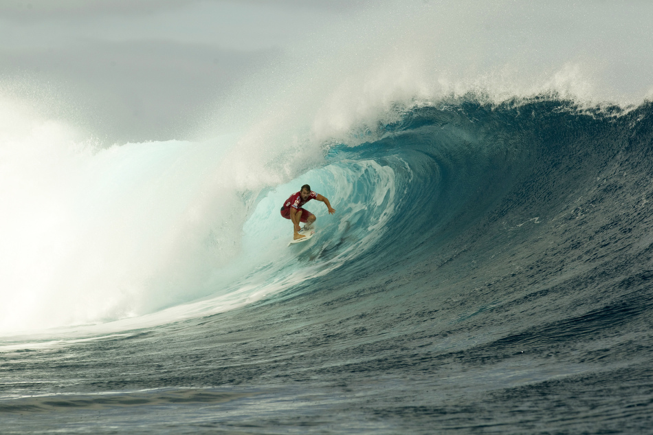 Surf Two-time Fiji Pro champ Damien Hobgood
