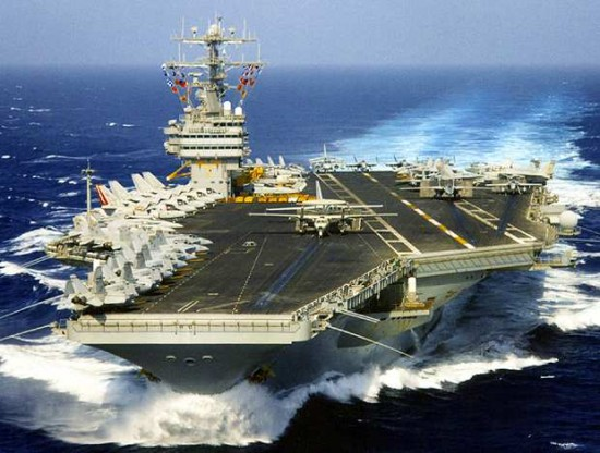 Guns and Military No. 1 USS Theodore Roosevelt Aircraft Carrier