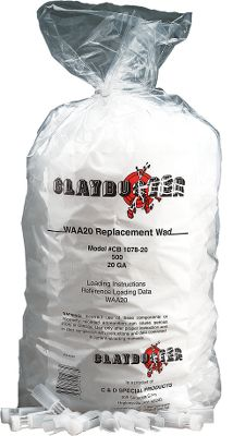 Claybuster Replacement Wads are high quality, economical replacements for name-brand wads. They're favorites among competitive skeet, trap and sporting clay shooters nationwide. Per 500. Color: Clay. Gender: Male. Age Group: Adult. - $11.99