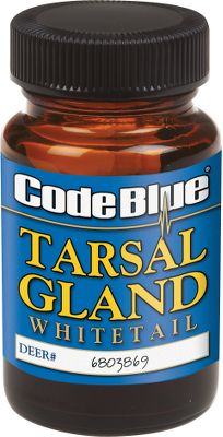 Hunting Ready for use, this gland is already activated with buck urine collected from a single buck. Reinforced with tarsal and interdigital gland secretions. Comes in a 2-oz. bottle. Color: Blue. - $10.99