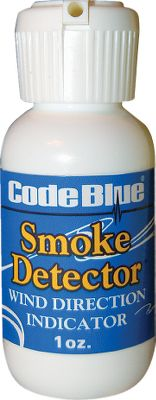 Hunting An easy, effective way to detect even the slightest wind shift. Odorless spray cloud shows you subtle air currents. Size: 1 oz. Color: Smoke. - $1.88