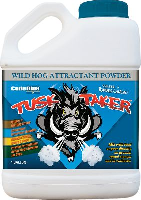 Hunting Mix with feed or pour directly on the ground to ignite a feeding frenzy. Powder formulation stimulates a voracious appetite that keeps hogs gorging for days. Size: 1 gallon. Type: Hog Attractants. - $24.99