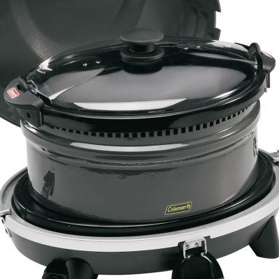 Camp and Hike Purchase the slow cooker for even more versatility with your Coleman Signature Series All-in-One Cook System. It's great for simmering crock-pot-style dished at camp like stew and chili. - $29.88